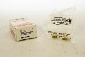 Pneumadyne Nv 32 Needle Valve Mini Box Of 10
