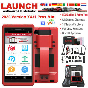 Launch X431 Pros Mini Wifi Bluetooth Obd2 Car Diagnostic Scan Service Tool As V