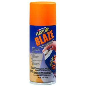 11 Oz Blaze Orange Plasti Dip Peelable Flexible Multi purpose Rubber Coating