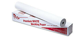 Us Chemical 37036 White Masking Paper 36 X 750 Roll Abs