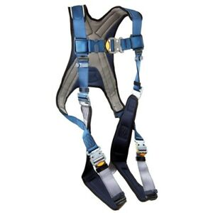 Dbi sala 1107981 Full Body Harness Size Xl 420 Lb Blue gray Priced To Sell