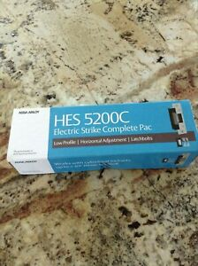 New Hes 5200c Electric Strike Complete Pac 10590404 5200c 12 24d 630 520030404