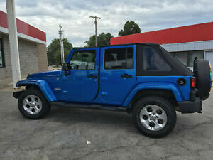 2007 2016 Jeep Wrangler Unlimited Frameless Bowless Soft Top Hardware Kit Used