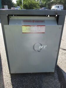 Ge 9t23a3873g03 45 Kva 3 Phase 480x120 208 Volt Transformer O s T1602