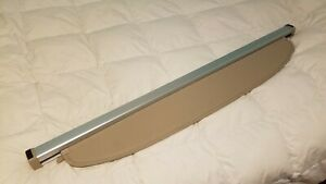 04 09 Toyota Prius Retractable Removable Cargo Trunk Tonneau Cover Shade Tan Oem