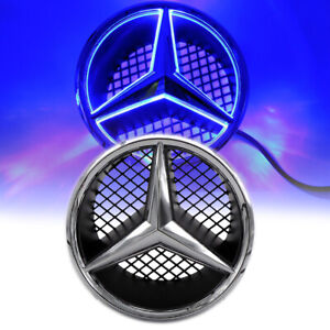 Car Auto Led Front Logo Grille Star Emblem Drl Light For Mercedes Benz 2006 2013