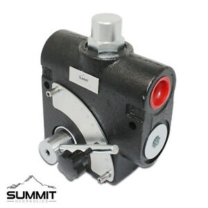 Hydraulic Adjustable Variable Flow Control Valve W Relief 0 16 Gpm 1 2 Npt