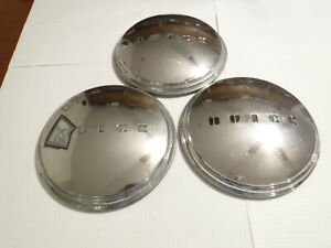 1949 Buick Original Hubcaps Wheel Covers Dog Dish