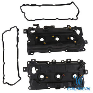 Engine Valve Cover Set W Gaskets For 2009 15 Nissan Murano Quest 3 5l Rh
