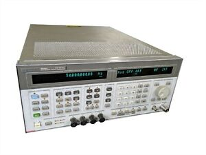 Keysight Agilent Hp 8644a High Performance Rf Synthesized Signal Generator