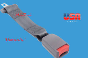 Extension 14 Seat Belt Gray Extender Belt Extension With Buckle Clip Width 7 8