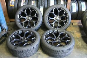 Set Of 4 2015 2016 2017 2018 2019 Chrysler 300 20 Oem Rims Tires 245 45 20 5sh9