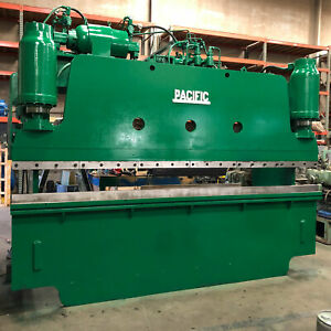 Used Pacific 12 X 150 ton Hydraulic Press Brake Accurpress Amada Cincinnati