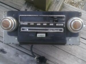 Gm Delco Radio Am fm Cb Cass Led 70 s