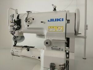 Mint Juki Ls 1341 Leather Upholstery Sewing Machine With Servo Motor Table