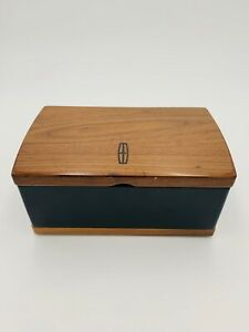 Black Brown Luxury Lincoln Wooden Jewelry Box
