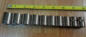 Usa Made Craftsman Industrial 3 8 Drive Metric Socket Set 10 Piece 9mm 18mm