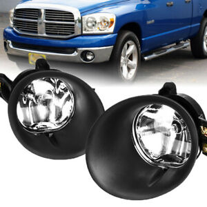 For 2002 2008 Dodge Ram 1500 2500 3500 Bright Led Projector Driving Fog Lights