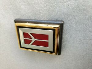 1991 1998 Oldsmobile Gold Trunk Lock Emblem new Other