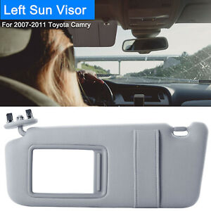 Auto Car Sun Visor Left Driver Side Cosmetic Mirror Fits 2007 2011 Toyota Camry