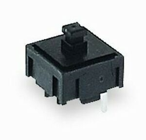 wholesale Qty 600 E switch 320 Series Black Round Button Tactile Switch