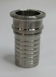 Sanitary Tri clamp 1 1 2 Hose Fitting 316 Stainless Steel H9068