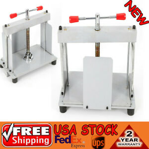A4 Size Manual Flat Paper Press Machine Balance Pole Flattener Notes Invoice