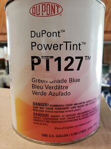 Dupont Automotive Paint Green Shade Blue Pt127