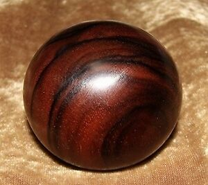 Wooden Shift Knob Material Stripe Ebony 12x1 25mm Spd 56d52 2l Shipping Included