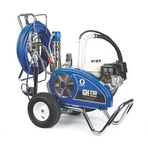 Graco 24w932 Gh 230 Convertible Procontractor Series Gas Hydraulic Airless