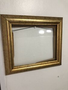 Solid Wood Picture Art Frame Gold