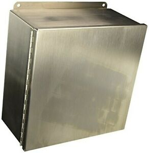 Hoffman Metal Electrical Enclosure Ss Jic Box A12106chnffss New Nve