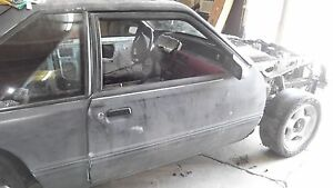 1987 93 Mustang Oem Passenger Side Power Door Rust Free Cobra Gt Lx
