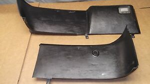 1987 93 Mustang Oem Rear Hatch Trim Panels Black Interior Back Cobra Gt Lx
