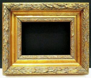 5 X 7 Standard 2 3 4 Wide Picture Frame Gold Leaf Classic Carved 1 8 Allowance