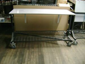 Z Rack Rolling Tilted Table Work Table