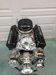 383 Efi Stroker Crate Engine 528hp Sbc With A C Roller Turn Key Below Cost Ls 3