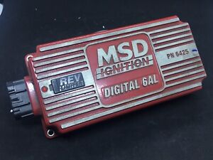 Ignition Box Assembly Digital Msd 6425 Used