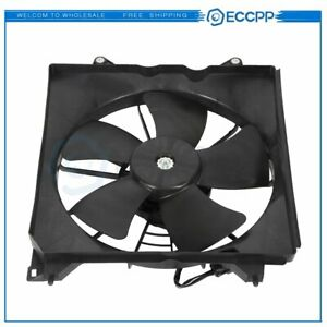 Radiator Cooling Fan Assembly For 2008 2009 2010 2011 2012 Honda Accord