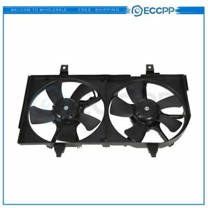 Radiator Cooling Fan Assembly For Infiniti I30 For Nissan Maxima 2000 2001