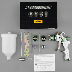 600cc Hvlp Spray Gun Kit Gravity Feed Vehicle Car Paint 1 4mm 1 7mm 2 0mm C7b1r