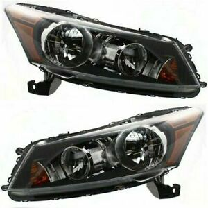 For 2008 2009 2010 2011 2012 Honda Accord Sedan Headlights Right