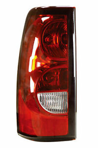 Fit For Chevy Silverado Fleetside 2004 2005 2006 Tail Lamp Left Driver