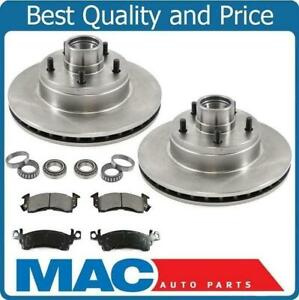 Ap Gm Cars 11 Inch Front Rotor Pads Kit Bearings 5542 Disc Brake Rotor Front