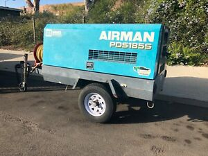 2007 Airman 185s Towable Air Compressor Diesel With Low Hours Make Offer