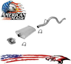 New Flange Inlet Muffler Tail Pipe For Jeep Cherokee 4 0l 01 20 00 To 2001