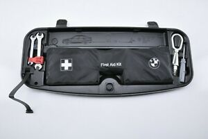 2004 2010 Bmw 530 525 First Aid Kit Lug Wrench Tow Hook Emergency Trunk Tools