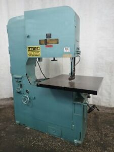 Tannewitz Vertical Bandsaw 36 40 X 36 Table 03191240298