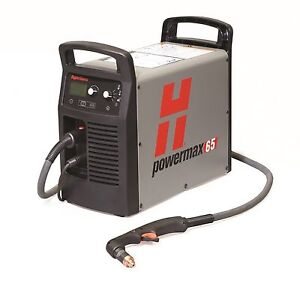 Hypertherm 083270 Powermax 65 Plasma Cutter 25 Torch Fac Recond Full Warranty