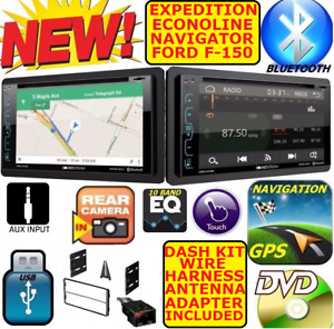 98 Up F150 Navigator Expedition Econoline Van Nav Bluetooth Cd Dvd Usb Radio